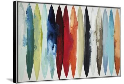 Even Flow-Randy Hibberd-Framed Canvas Print