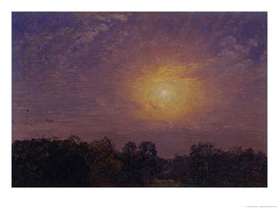 Evening, 1859-Jasper Francis Cropsey-Giclee Print