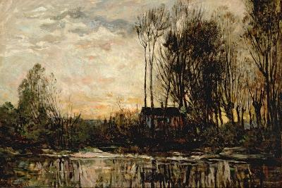 Evening at Bas Meudon, 1874-Charles Francois Daubigny-Giclee Print