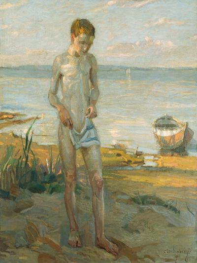 Evening at the Ammersee, 1911-Christian Landenberger-Giclee Print