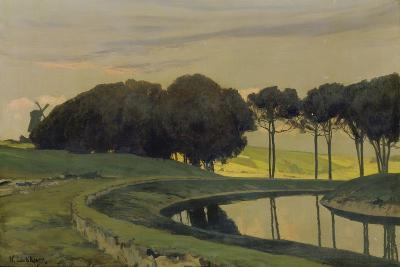 Evening Atmosphere at the Canal-Walter Leistikow-Giclee Print