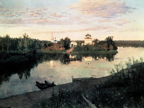 Evening Bells-Isaak Ilyich Levitan-Giclee Print