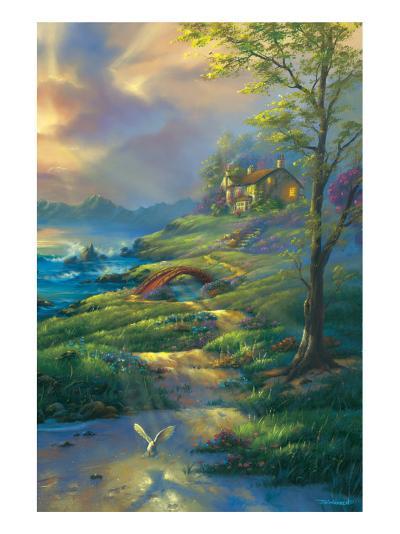 Evening Comfort-Jim Warren-Premium Giclee Print