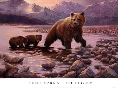 Evening Dip-Bonnie Marris-Art Print