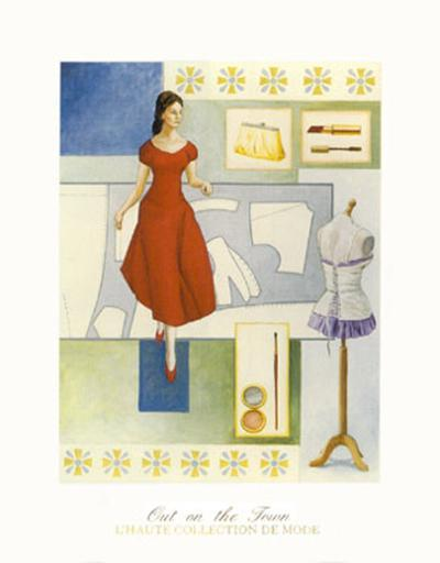Evening Elegance-David Marrocco-Art Print