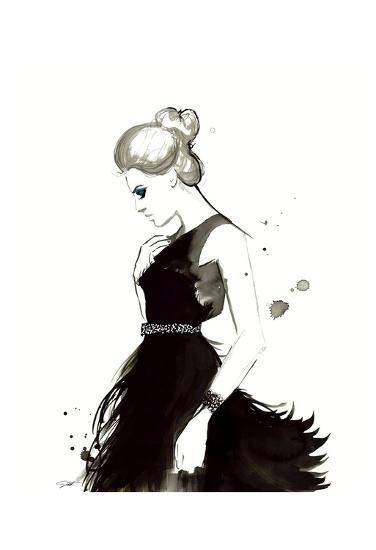 Evening Elegance-Jessica Durrant-Art Print