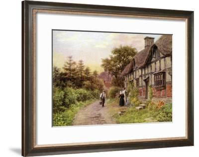 Evening, Elmley Castle, Worcester-Alfred Robert Quinton-Framed Giclee Print