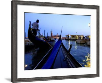Evening Gondola Ride, Venice, Italy-Cindy Miller Hopkins-Framed Photographic Print