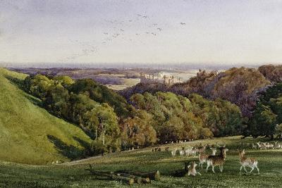 Evening in Arundel Park, Sussex, England-Charles James Adams-Giclee Print