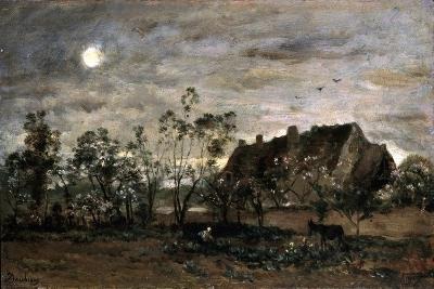 Evening in Honfleur, 1860S-Charles François Daubigny-Giclee Print