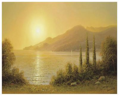 Evening In Jalta-A^ Gorjacev-Art Print