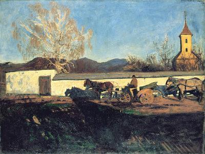 Evening in March-Karoly Ferenczy-Giclee Print