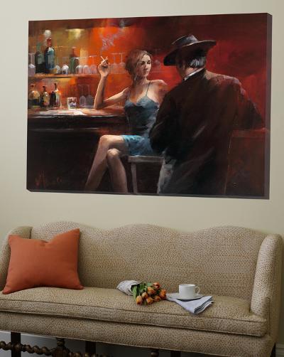 Evening in the Bar II-Willem Haenraets-Loft Art