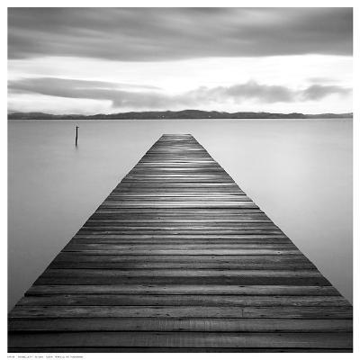 Evening Jetty-M^ Mun-Art Print