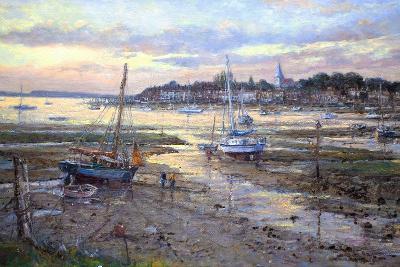 Evening Light- Bosham, 2011-John Sutton-Giclee Print