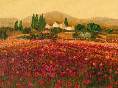 Evening Light, Languedoc-Hazel Barker-Giclee Print