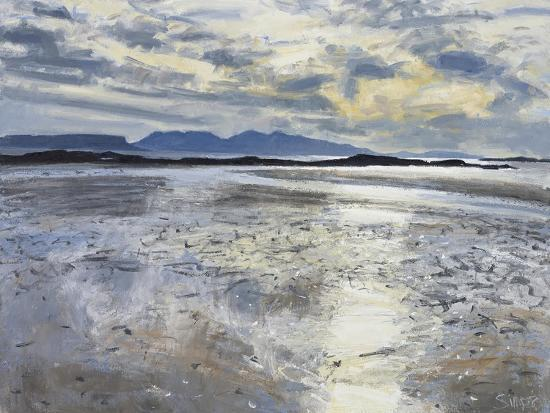 Evening Light, Low Tide, 2013-Charles Simpson-Giclee Print