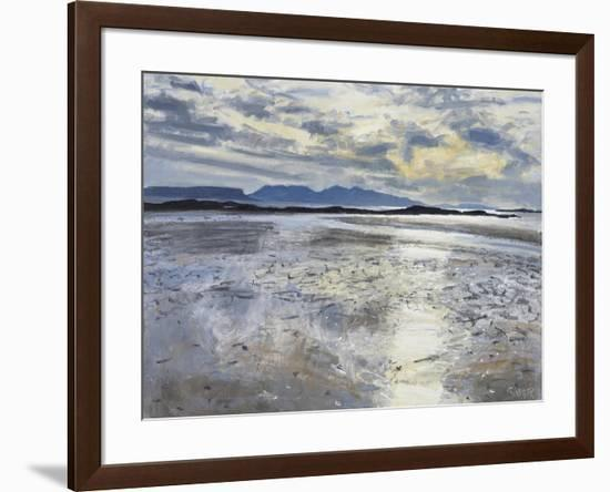 Evening Light, Low Tide, 2013-Charles Simpson-Framed Giclee Print