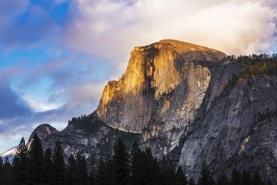 Evening Light on Half Dome, California, Usa-Russ Bishop-Photographic Print