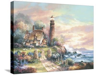 Evening Light-James Lee-Stretched Canvas Print