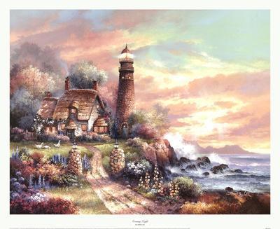 Evening Light-James Lee-Art Print