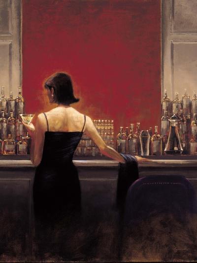 Evening Lounge-Brent Lynch-Premium Giclee Print