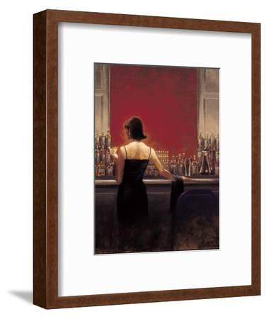Evening Lounge-Brent Lynch-Framed Premium Giclee Print