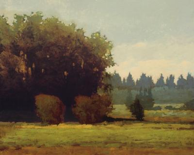 Evening Near Eugene-Marc Bohne-Art Print
