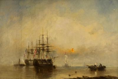 Evening on the Medway-William McAlpine-Giclee Print