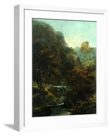 Evening On The River-William James Muller-Framed Giclee Print