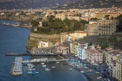 Evening over Sorrento, Campania, Italy-Brian Jannsen-Photographic Print