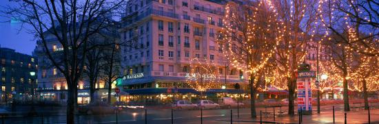 Evening, Paris, France--Photographic Print