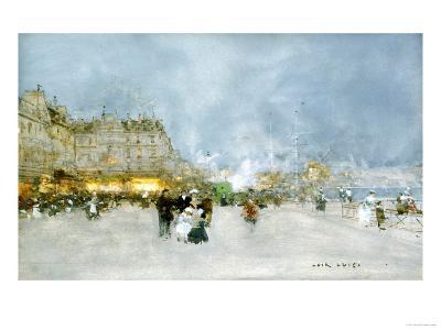 Evening Promenade-Luigi Loir-Giclee Print