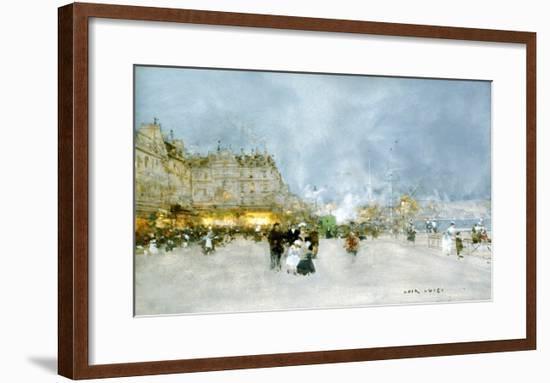 Evening Promenade-Luigi Loir-Framed Giclee Print