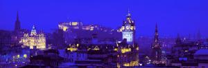 Evening, Royal Castle, Edinburgh, Scotland, United Kingdom