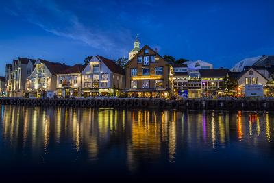 Evening Scene Of The City Of Stavanger, Norway-Karine Aigner-Photographic Print