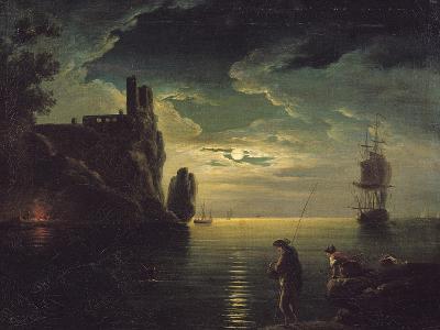 Evening Seascape-Claude Joseph Vernet-Giclee Print