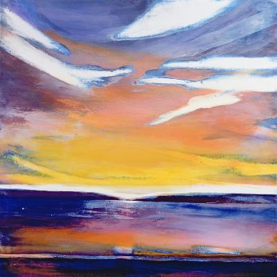 Evening Seascape-Lou Gibbs-Giclee Print