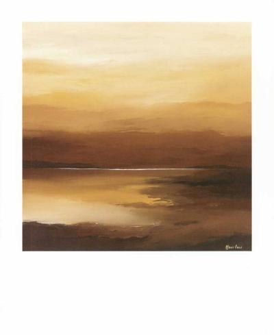 Evening Sky II-Hans Paus-Art Print