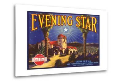 Evening Star Lemon Label