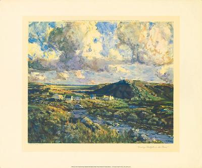Evening Sunlight In The Rosses-James Humbert Craig-Premium Giclee Print