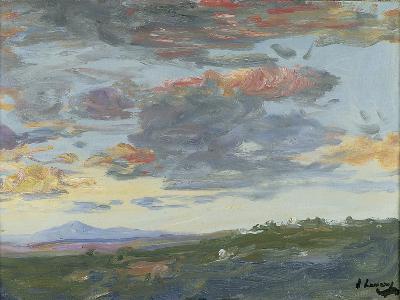 Evening, Tangier-Sir John Lavery-Giclee Print