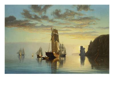 Evening Tide-William Partridge Burpee-Giclee Print
