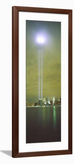 Evening, Towers of Light, Lower Manhattan, New York City, New York State, USA--Framed Photographic Print