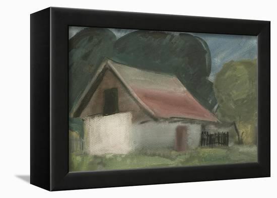 Evening Twilight, 1999-Emil Parrag-Framed Premier Image Canvas