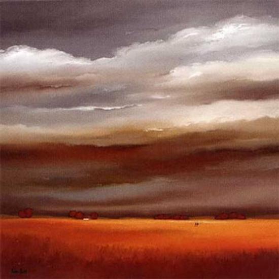 Evening Walk I-Hans Paus-Art Print