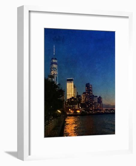 Evening Walks-Acosta-Framed Art Print