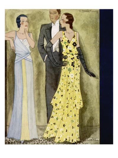 Evening Wear 1931--Giclee Print