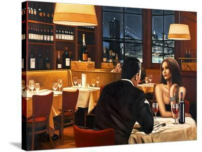 Evening-Pierre Benson-Stretched Canvas Print