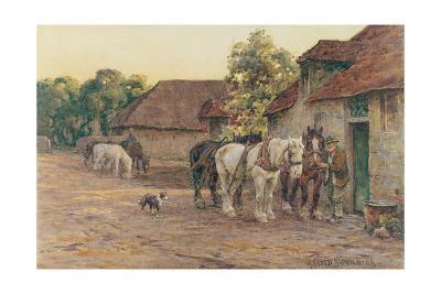 Evening-J^ M^ W^ Turner-Giclee Print